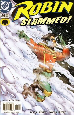Cover for Robin #89