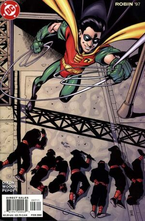 Cover for Robin #97
