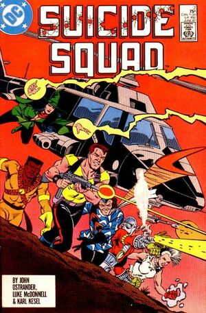Cover for Suicide Squad #2
