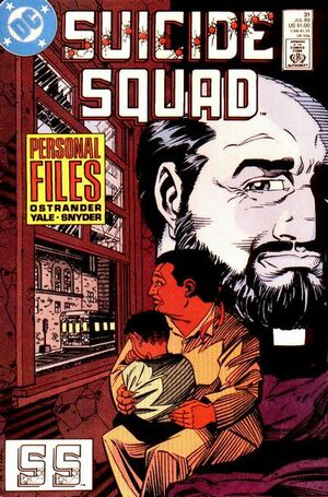 Cover for Suicide Squad #31