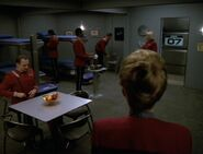 Excelsior quarters, Tuvok