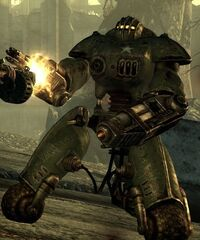 FO3 Sentry Bot