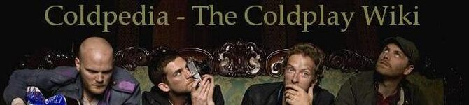 Coldplay Banner 1