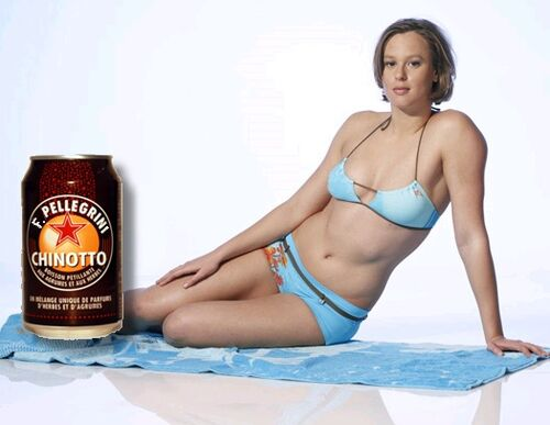Federica Pellegrini sponsorizza Chinotto