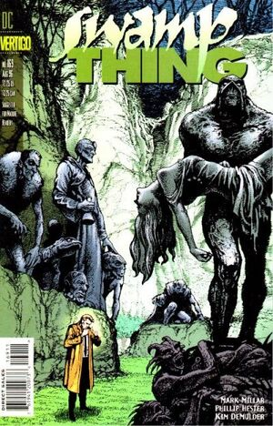 Cover for Swamp Thing #169