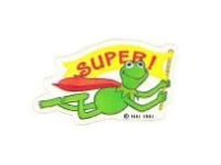 Superkermitsticker
