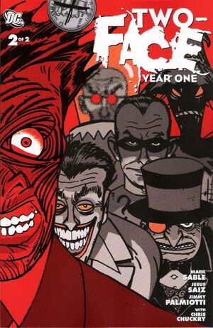 Cover for Two-Face: Year One #2
