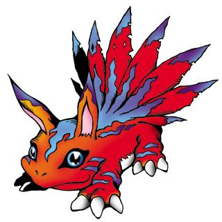 Digimon #000: Elecmon Elecmon_b