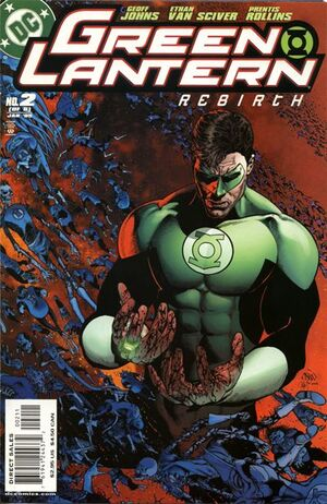 Cover for Green Lantern: Rebirth #2