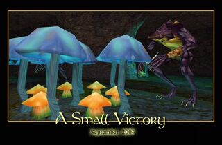 A Small Victory Splash Screen
