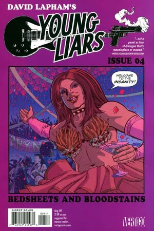 Cover for Young Liars #4