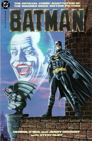 Cover for Batman (Movie Adaptations) #1