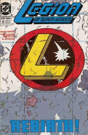 Cover for Legion of Super-Heroes #12