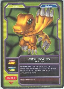 Agumon DM-184 (DC)