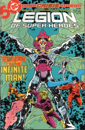 Cover for Legion of Super-Heroes #18