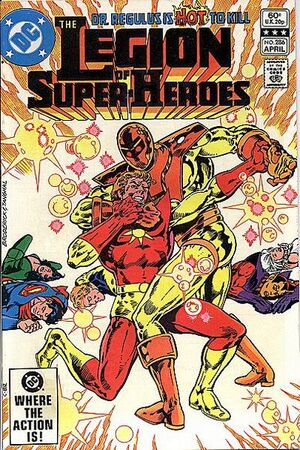 Cover for Legion of Super-Heroes #286