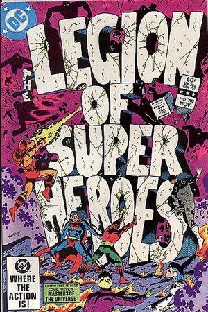 Cover for Legion of Super-Heroes #293