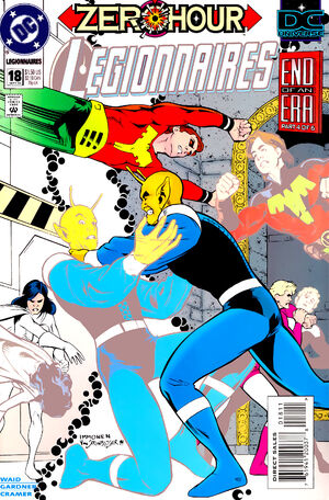 Cover for Legionnaires #18