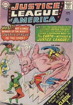 Cover for Justice League of America #37
