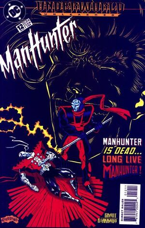 Cover for Manhunter #12