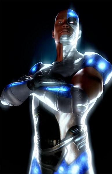 Cyborg - Batman Wiki Red Son Justice League