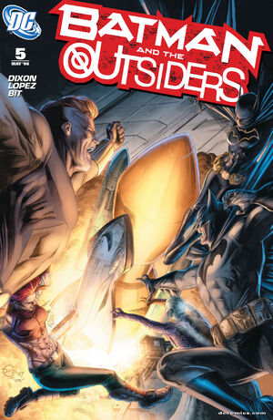 Cover for Batman and the Outsiders #5