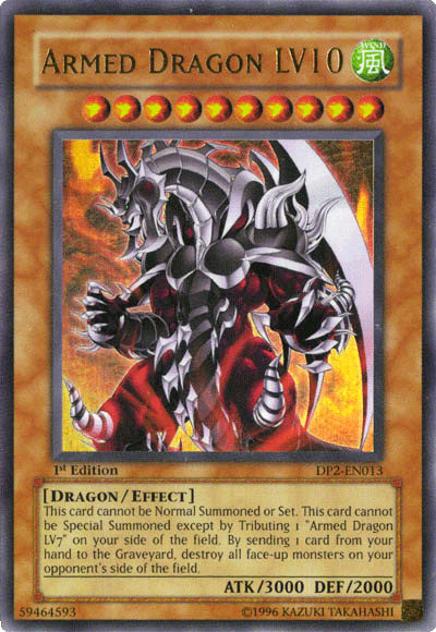 Armed Dragon LV10 - Yu-Gi-Oh! TCG/OCG Card Discussion ...