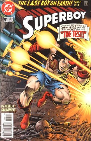 Cover for Superboy #51
