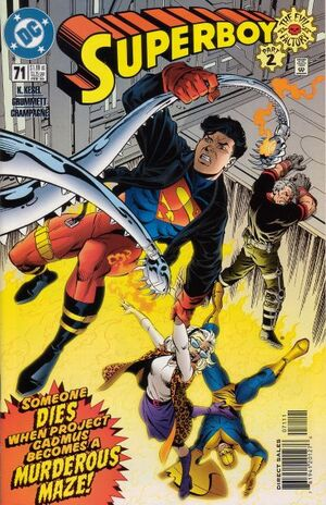 Cover for Superboy #71