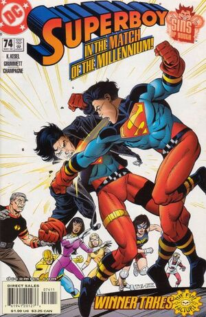 Cover for Superboy #74