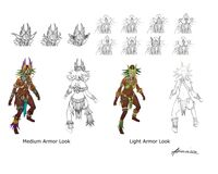 Female Witch Doctor models