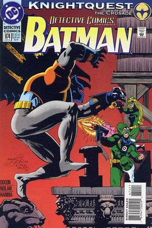 Cover for Detective Comics #674