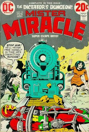 Cover for Mister Miracle #13