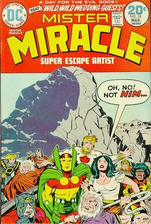 Cover for Mister Miracle #18