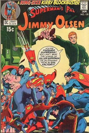 Cover for Superman's Pal, Jimmy Olsen #135