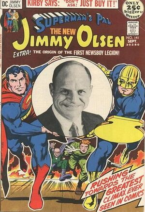 Cover for Superman's Pal, Jimmy Olsen #141