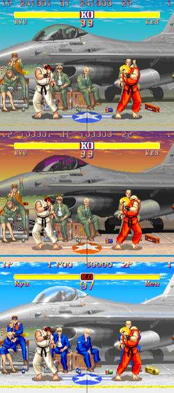 Street Fighter II comparison