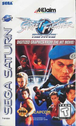 Street Fighter The Movie game cover