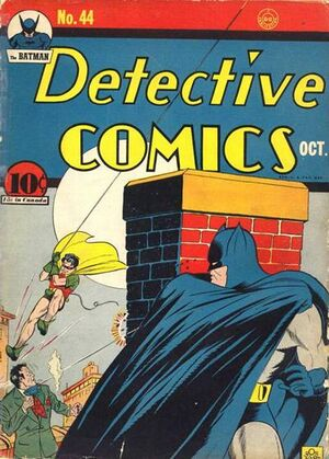 Cover for Detective Comics #44