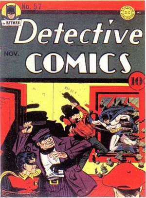 Cover for Detective Comics #57