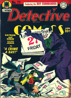 Cover for Detective Comics #71