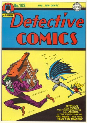 Cover for Detective Comics #102