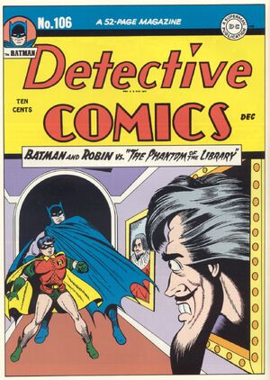 Cover for Detective Comics #106