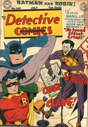 Cover for Detective Comics #149