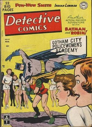 Cover for Detective Comics #157