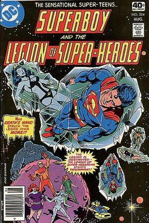 Cover for Superboy and the Legion of Super-Heroes #254