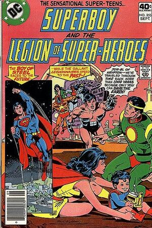 Cover for Superboy and the Legion of Super-Heroes #255