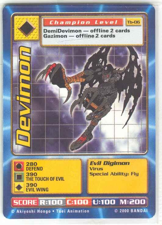 carddevimon digimon wiki go on an adventure to tame