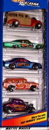 Hot Wheels.com 5-Pack - 6665cf
