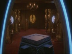 Bajoran temple, Afterimage